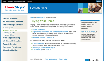 Buying Homesteps Property